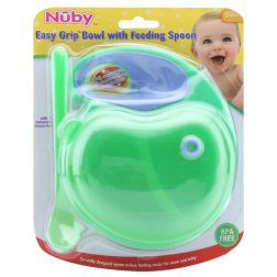 Nuby Micro Finger Bowl (Colours May Vary)
