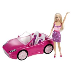 Barbie - Doll and Glam Convertible